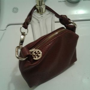 Tory Burch Small Brown Pouch